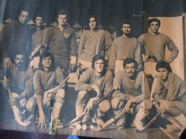 Hockey Club Genova 1973 G. Occhiuto, Rosario Cavallo, Ignazio Gucciardi, P. Sirigu, Renato Sirigu, G. Loi, Franco Arscone, M. Saba, Amedeo Martini, Franco Ferrero, Angelo Saba