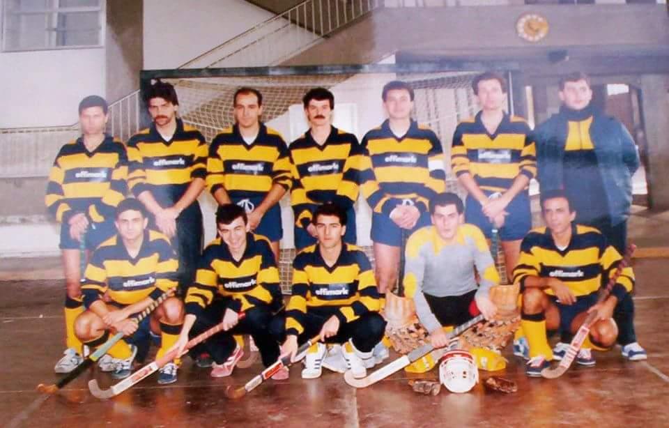 Hockey Club Genova anni '80 indoor
