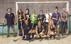 La prima squadra femminile dell'Hockey Club Genova